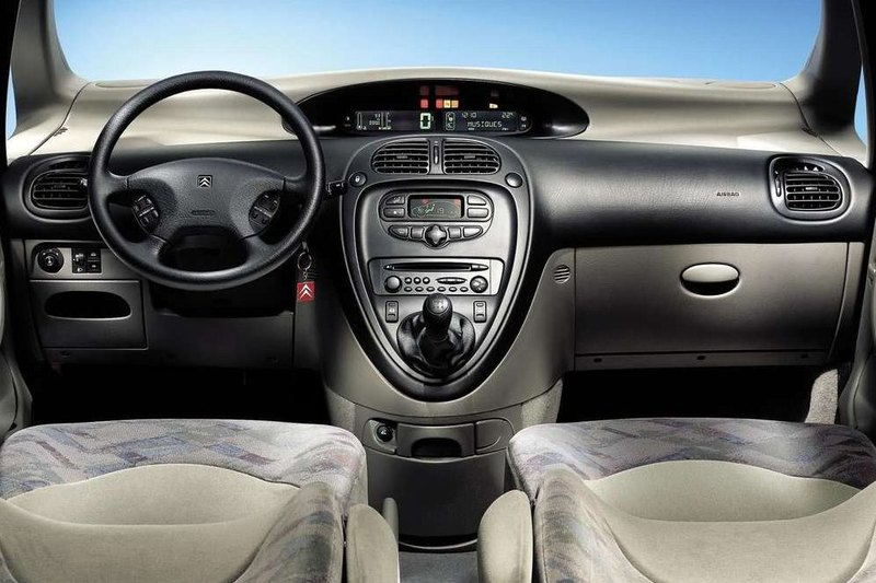 citroen xsara picasso i 1 6 hdi 110 km 2004 van skrzynia. Black Bedroom Furniture Sets. Home Design Ideas