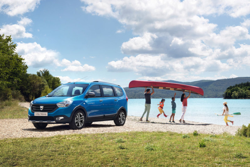 dacia lodgy stepway 1 2 tce 115 km 2015 van skrzynia. Black Bedroom Furniture Sets. Home Design Ideas