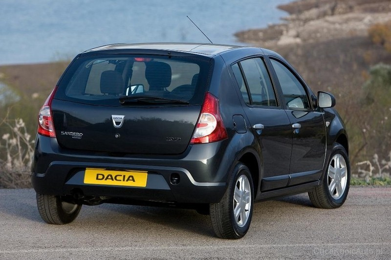 dacia sandero i 1 2 16v 75 km 2012 hatchback 5dr skrzynia r czna nap d przedni zdj cie 5. Black Bedroom Furniture Sets. Home Design Ideas