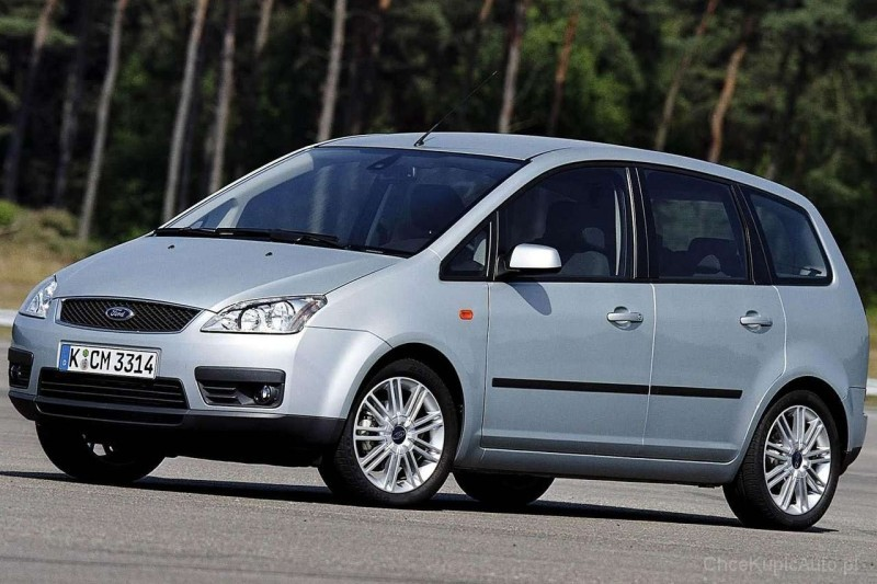 ford focus c max i 1 6 tdci 109 km 2006 van skrzynia r czna nap d przedni zdj cie 6. Black Bedroom Furniture Sets. Home Design Ideas