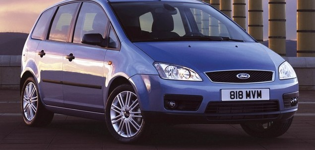 ford focus c max i 1 6 tdci 109 km 2004 van skrzynia r czna nap d przedni. Black Bedroom Furniture Sets. Home Design Ideas