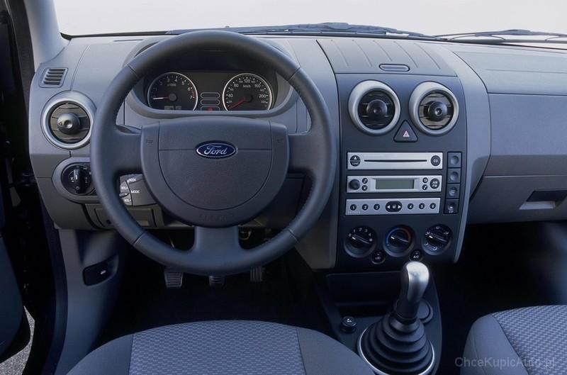 Ford Fusion I 1 6 100 Km 2003 Hatchback 5dr Skrzynia