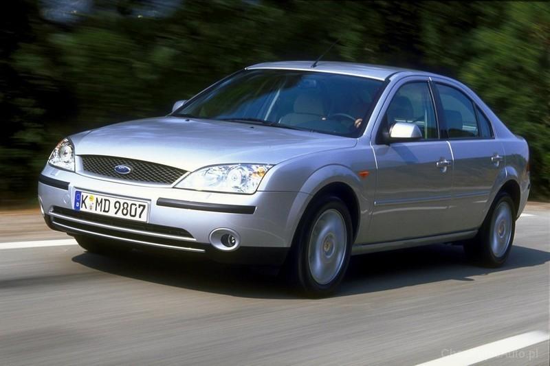 Ford Mondeo Mk3 2.0 TDCI 130 KM 2001 sedan skrzynia ręczna napęd przedni - zdjęcie 1