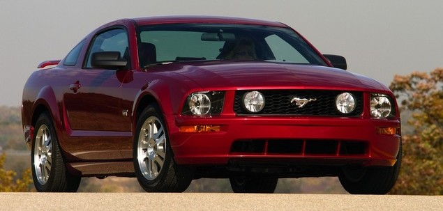 Ford Mustang V 4.0 210 KM