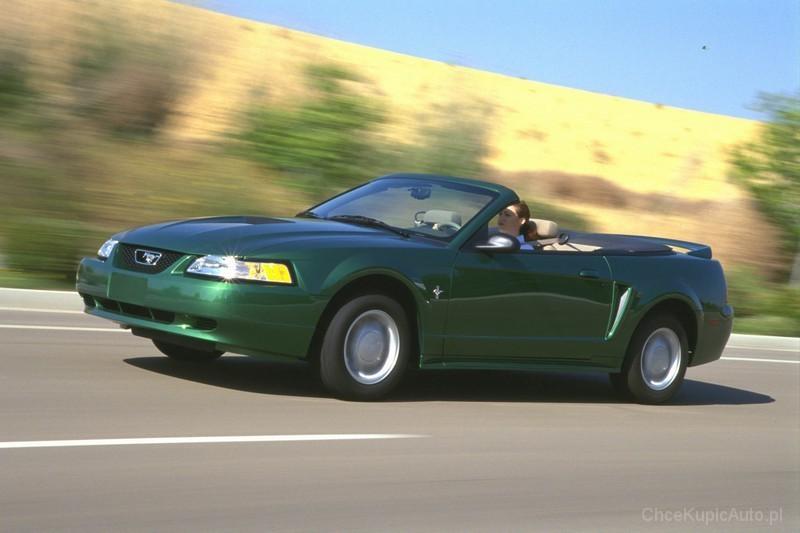 Ford Mustang Iv 3 8 193 Km 2001 Kabriolet Skrzynia Ręczna Napęd Tylny Zdjęcie 3