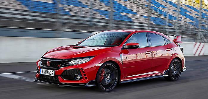 Honda Civic X Type R 2 0 Vtec Turbo 320 Km 2017 Hatchback 5dr