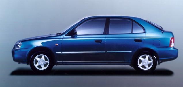 Hyundai Accent I 1.5 91 KM