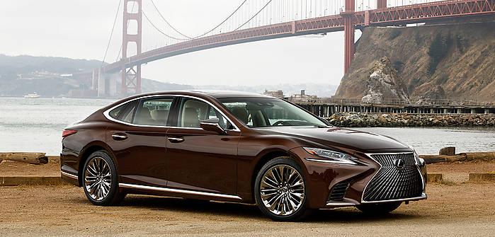 Lexus LS V 500 421 KM