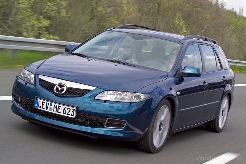 mazda 6 i 2 0 cd 143 km 2007 kombi skrzynia r czna nap d przedni zdj cie 13. Black Bedroom Furniture Sets. Home Design Ideas