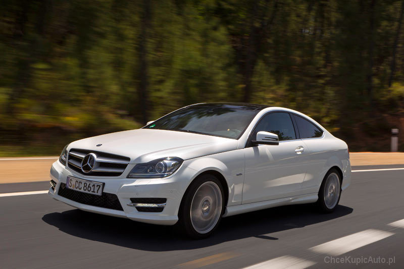 Mercedes Benz C Klasa C204 200 183 Km 2013 Coupe