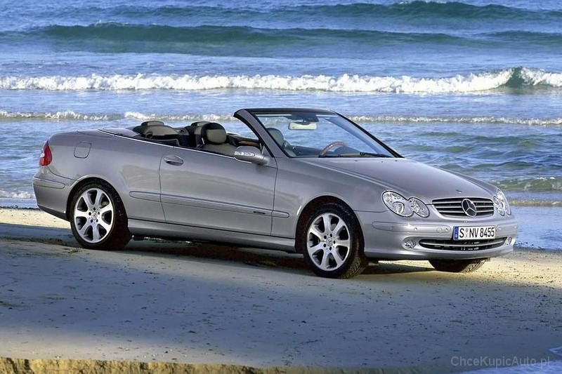 mercedes benz clk w209 220 cdi 150 km 2006 kabriolet skrzynia r czna nap d tylny zdj cie 2. Black Bedroom Furniture Sets. Home Design Ideas