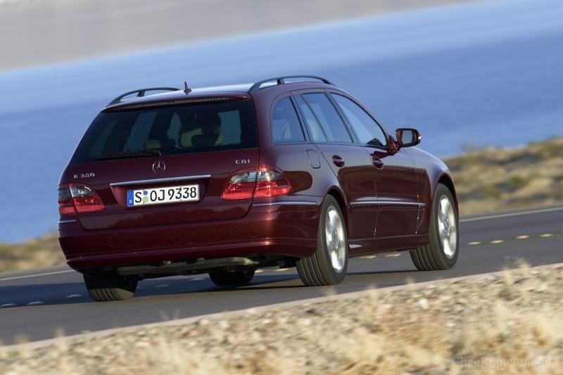 Mercedes Benz E Klasa S211 320 224 Km 2005 Kombi Skrzynia Automatyczna Zautomatyzowana Napęd
