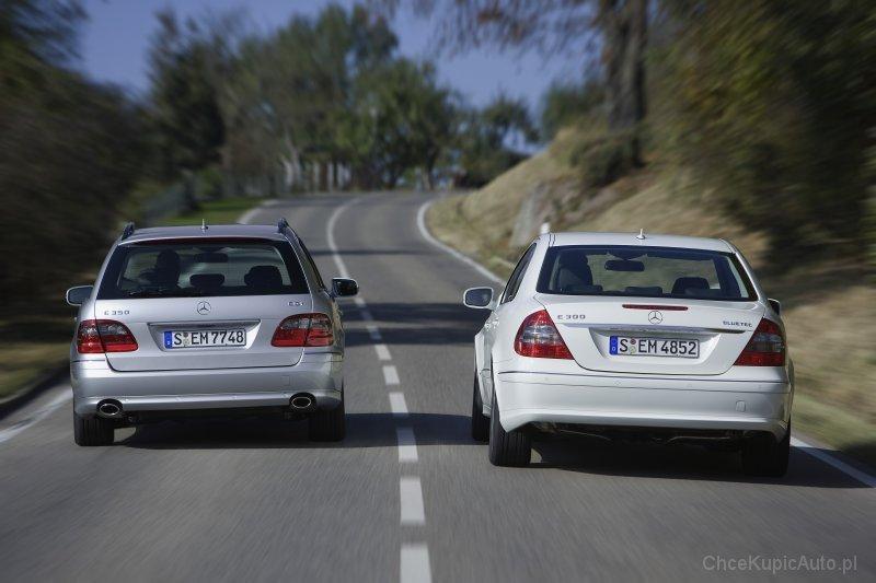 Mercedes - Benz E-klasa W211 500 388 KM