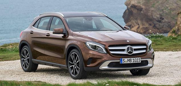 Mercedes - Benz GLA X156 250 211 KM