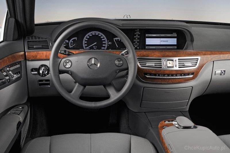 Mercedes Benz S Klasa W221 350 306 Km 2012 Sedan