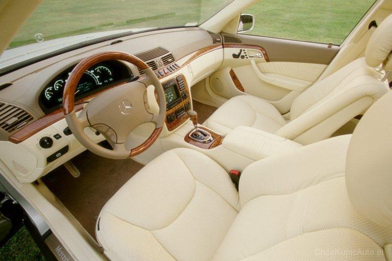 Mercedes - Benz S-klasa W220 350 245 KM