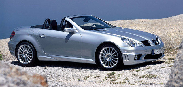 mercedes benz slk r171 200 kompressor 163 km 2004 coupe. Black Bedroom Furniture Sets. Home Design Ideas