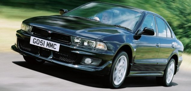 Mitsubishi Galant VIII 2.5 V6 161 KM