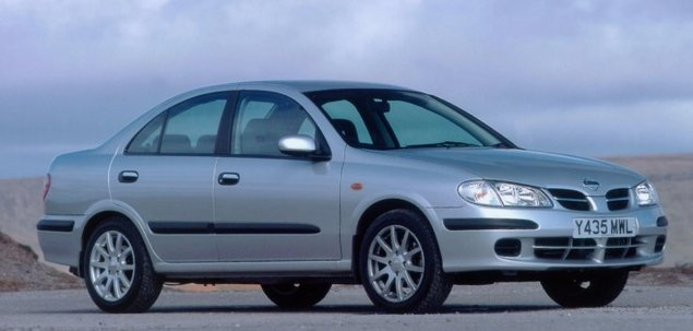 nissan almera ii 2 2 di 110 km 2001 sedan skrzynia r czna nap d przedni. Black Bedroom Furniture Sets. Home Design Ideas
