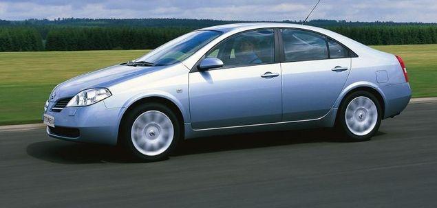 Nissan Primera P12 1.6 109 KM