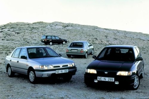 nissan sunny n14 2 0 d 75 km 1994 hatchback 3dr skrzynia. Black Bedroom Furniture Sets. Home Design Ideas