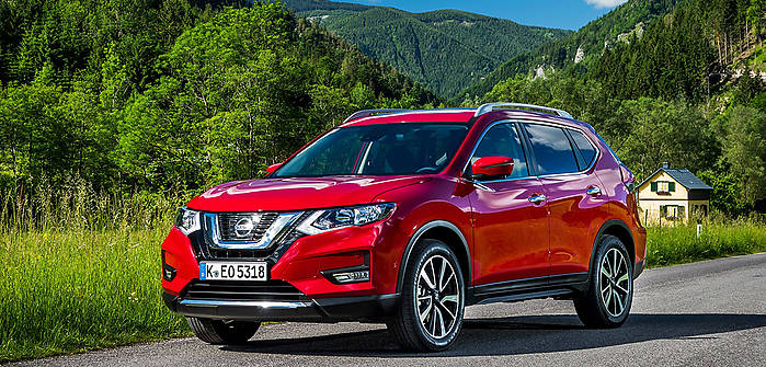 nissan x trail iii fl 1 6 dci 130 km 2017 suv skrzynia r czna nap d przedni. Black Bedroom Furniture Sets. Home Design Ideas