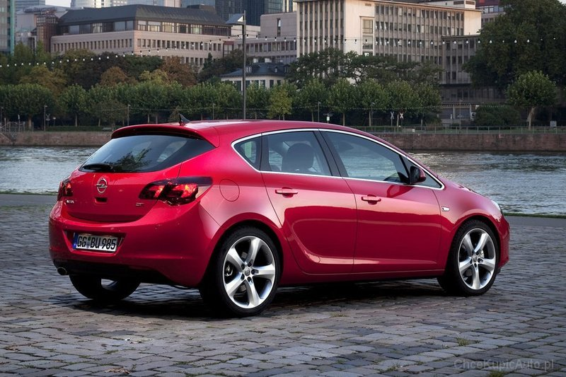 opel astra j 1 4 turbo 120 km 2012 hatchback 5dr skrzynia. Black Bedroom Furniture Sets. Home Design Ideas