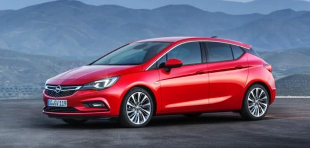 Opel Astra K 1.4 Turbo 125 KM