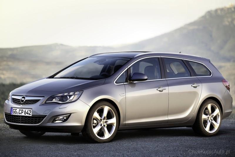 Opel Astra J 1.7 CDTI 110 KM