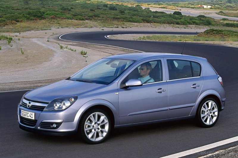 Opel Astra H 1 7 Cdti 100 Km 2004 Hatchback 5dr Skrzynia