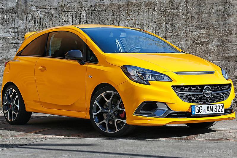 Opel Corsa E GSI 1.4 Turbo 150 KM