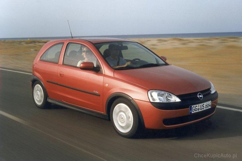 Opel Corsa C 1.0 58 KM