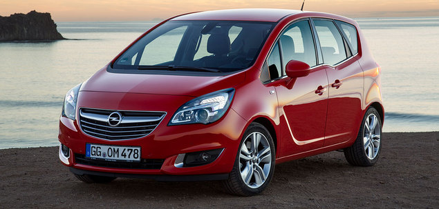 opel meriva ii fl 1 4 100 km 2014 van skrzynia r czna nap d przedni. Black Bedroom Furniture Sets. Home Design Ideas