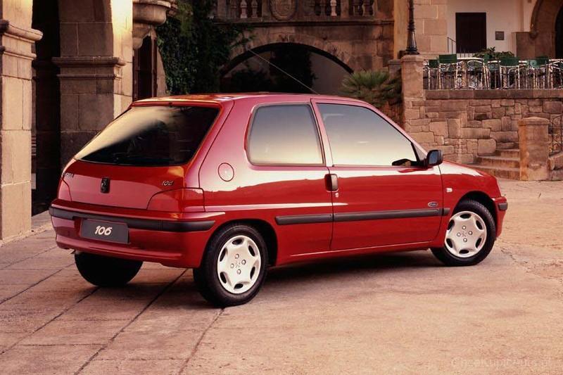 peugeot 106 1 1 60 km 1996 hatchback 3dr skrzynia r czna nap d przedni zdj cie 5. Black Bedroom Furniture Sets. Home Design Ideas