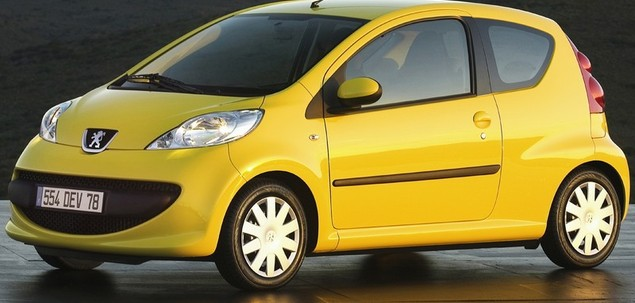 Peugeot 107 1.0 68 KM