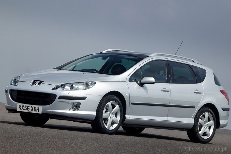 Peugeot 407 SW 1.6 HDI 110 KM