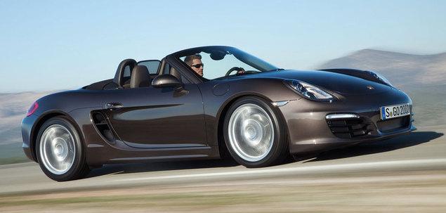 Porsche Boxster 981 S 315 KM