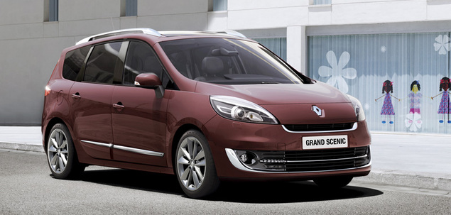 renault grand scenic iii my2012 1 4 tce 130 km 2012 van skrzynia r czna nap d przedni. Black Bedroom Furniture Sets. Home Design Ideas