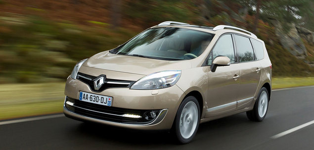 renault grand scenic iii fl 1 6 dci 130 km 2014 van. Black Bedroom Furniture Sets. Home Design Ideas