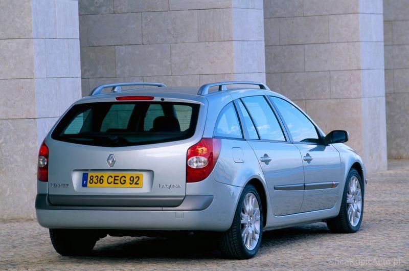 Renault Laguna II 1 9 dCi 100 KM 2004 kombi skrzynia ręczna