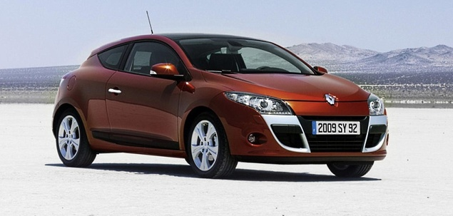 renault megane iii 1 9 dci 130 km 2011 coupe skrzynia. Black Bedroom Furniture Sets. Home Design Ideas
