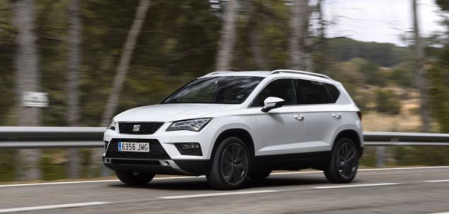 seat ateca 1 4 tsi 150 km 2016 suv skrzynia r czna nap d. Black Bedroom Furniture Sets. Home Design Ideas