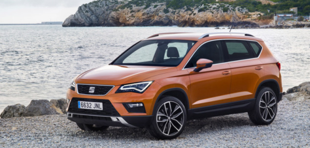 seat ateca 1 4 tsi 150 km 2016 suv skrzynia r czna nap d 4x4. Black Bedroom Furniture Sets. Home Design Ideas