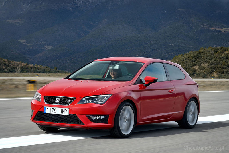 seat leon iii fr 184 km 2014 hatchback 3dr skrzynia. Black Bedroom Furniture Sets. Home Design Ideas