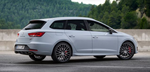 seat leon iii cupra 2 0 tsi 290 km 2016 kombi skrzynia. Black Bedroom Furniture Sets. Home Design Ideas