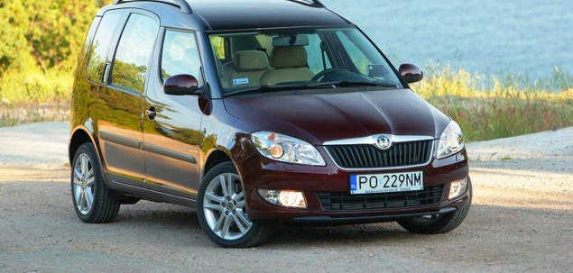 skoda roomster 1 6 16v 105 km 2006 van skrzynia r czna. Black Bedroom Furniture Sets. Home Design Ideas