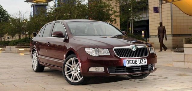 Skoda Superb II 2.0 TDI 170 KM