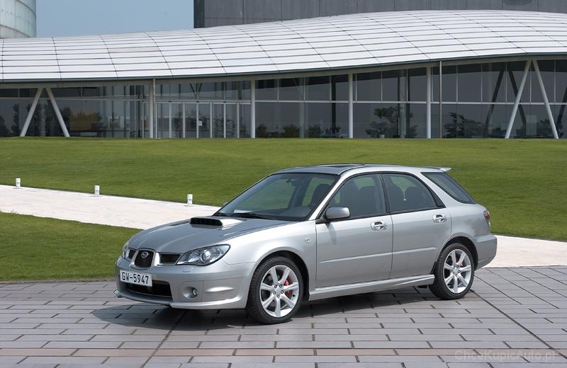Subaru Impreza Gd 2 0 Wrx 225 Km 2004 Kombi Skrzynia