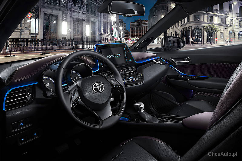 toyota c hr 1 8 hybrid 122 km 2018 crossover skrzynia automatyczna zautomatyzowana nap d przedni. Black Bedroom Furniture Sets. Home Design Ideas