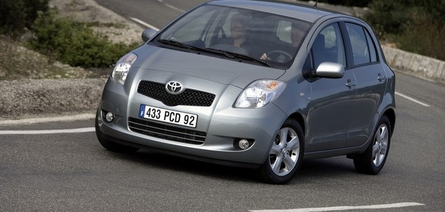 toyota yaris ii 1 0 68 km 2007 hatchback 5dr skrzynia. Black Bedroom Furniture Sets. Home Design Ideas